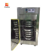 150 degree low drying temperature vegetable chips dryer/tea drying machine for sale