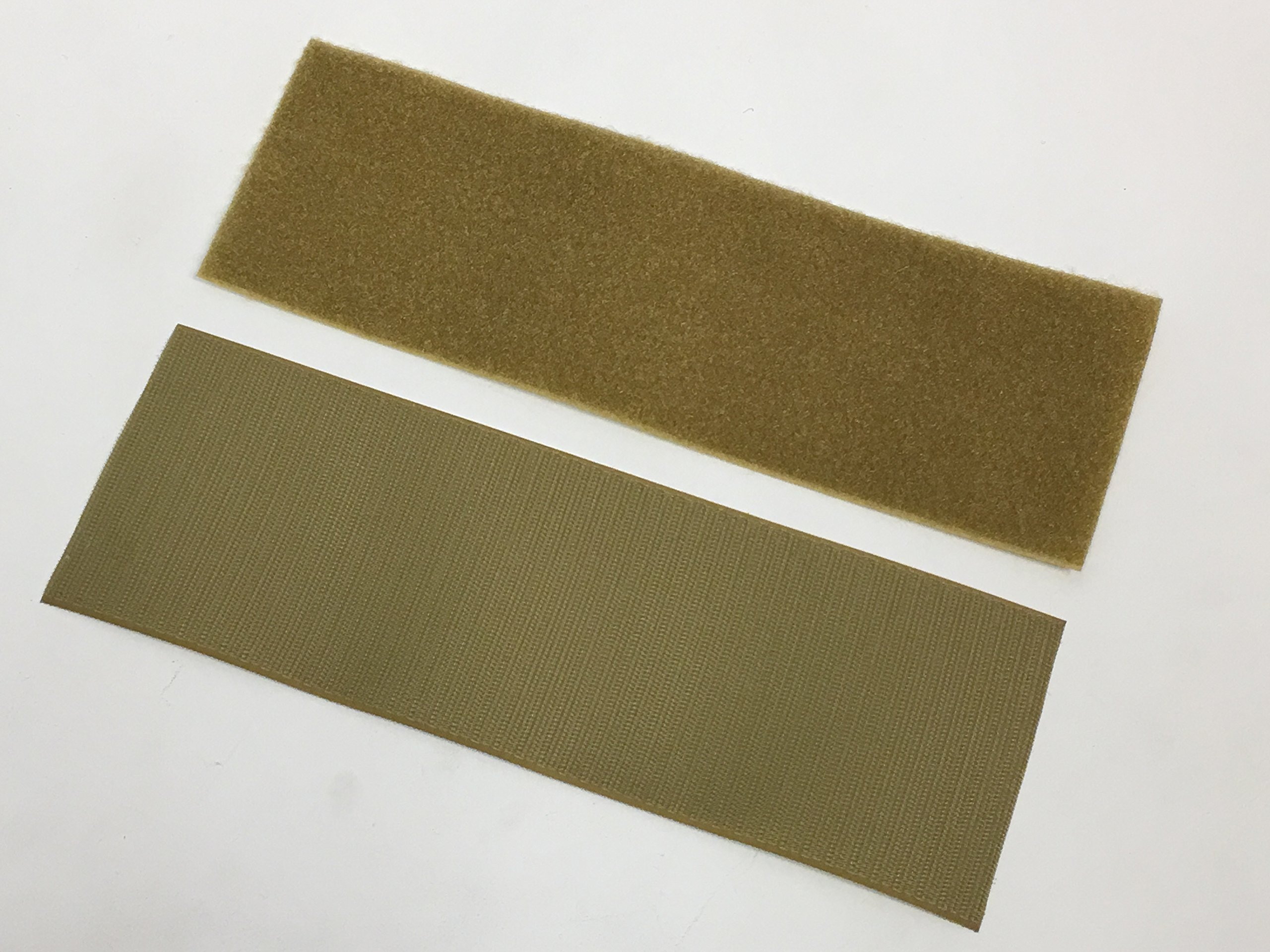 Adhesive  Backed Mil Spec Military Green VELCRO® Brand HOOK Fastener