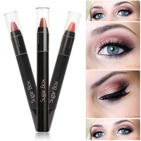 New fashion multi-colored shimmer eyeshadow easily colored makeup eyeshadow pencil