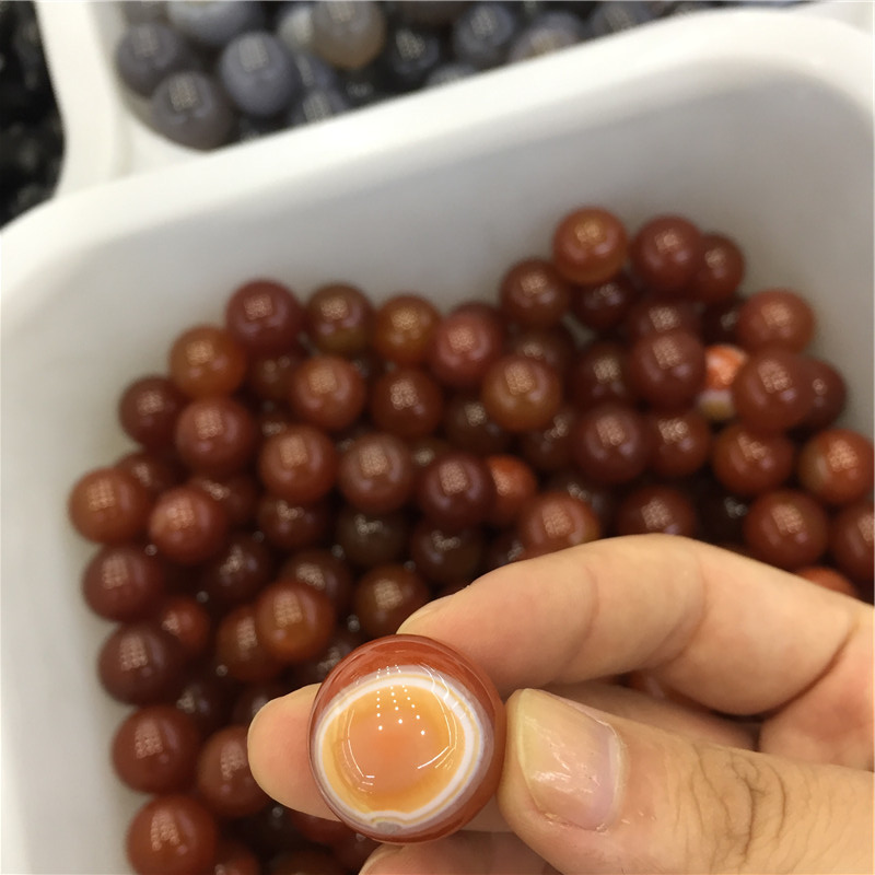 Red Agate Rock Quartz Spheres Crystal Balls For Sale