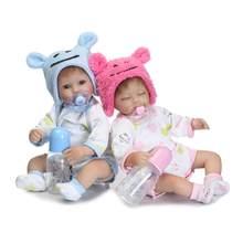 Кукла новорожденная NPK, силиконовая, Реалистичная, 40 см(Китай)