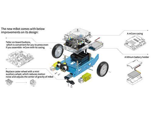 Make block mBot v1.1 Robot éducatif Robot bloc programmable