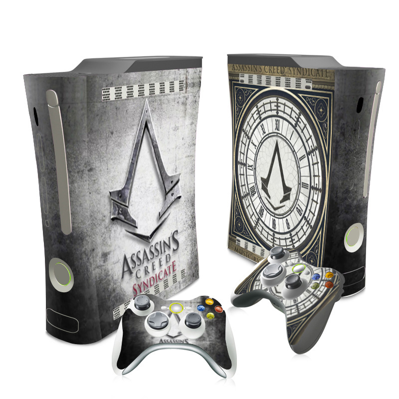 For Xbox 360 Skin Sticker Cover For Xbox 360 Console And