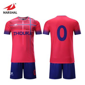 e852691b07 Men's Red Simple Custom Football Jerseys And Pants Sublimation Logo Design  Football Kits Team Uniforms Soccer Jersey - Buy Soccer Jersey,Custom ...
