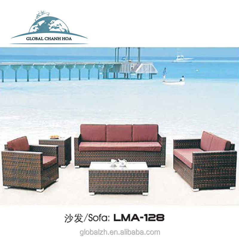 Comfortable Wicker Rattan Sofa Sets Oceans Havanna Outdoor Patio Furniture