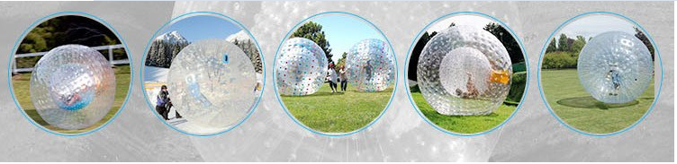 High Quality cheap rolling down a hill inside a giant inflatable ball, funny inflatable zorb ball for sale