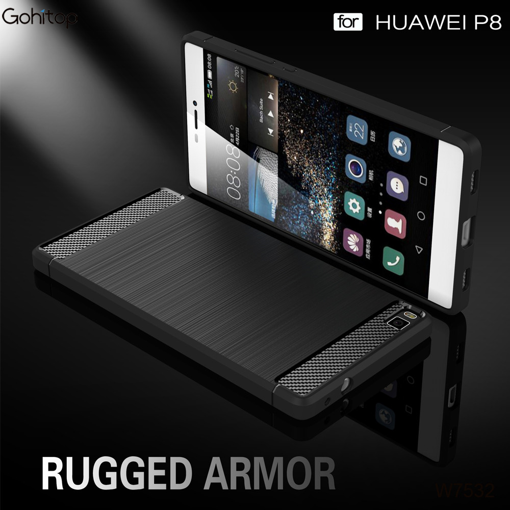 for Huawei P8 Case, TPU Mobile Phone Case for Huawei P8