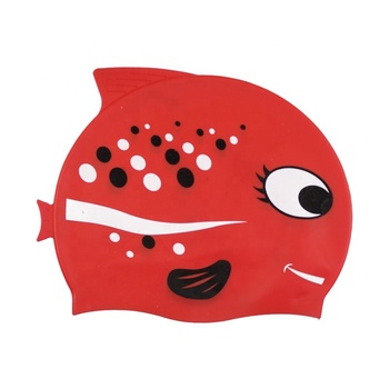cartoon swimming hat cartoon swim cap for kid