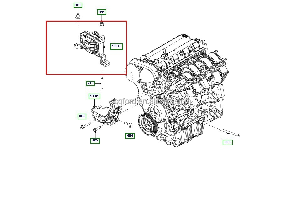 ford zetec camshaft sensor location