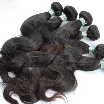 unprocessed no shedding no lice and tangle free 100% virgin peruvian hair wholesale body wave hair