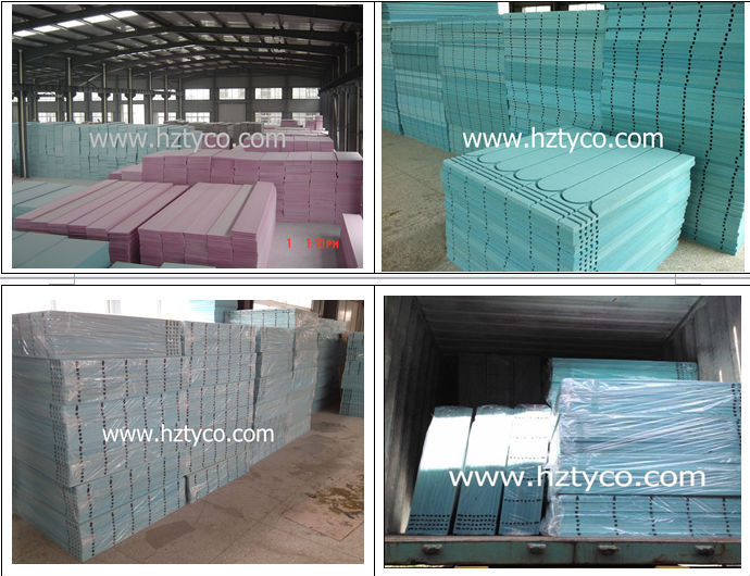 Aluminum Foil Covered Underfloor Heating Panel Buy Xps