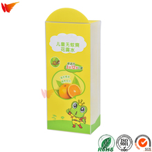 wanli brand pet pp pvc child products packaging box custom plastic packaging
