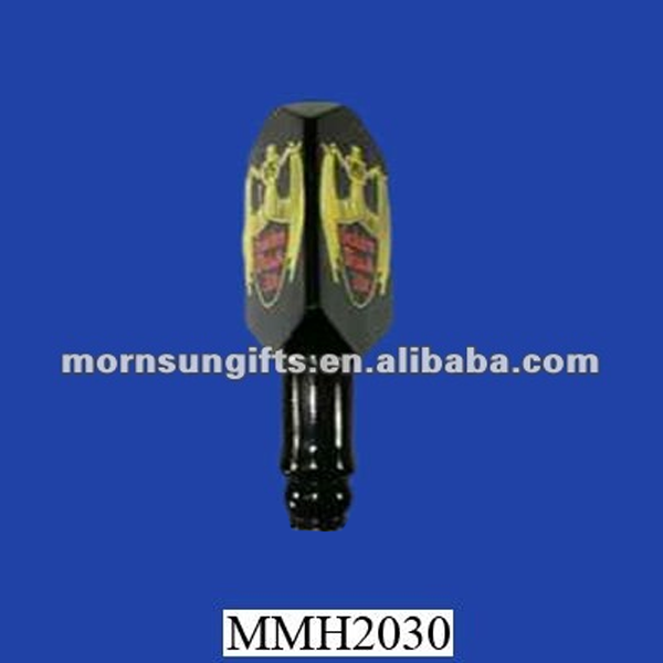 High quality bar items Nice looking polyresin exotic beer tap handle