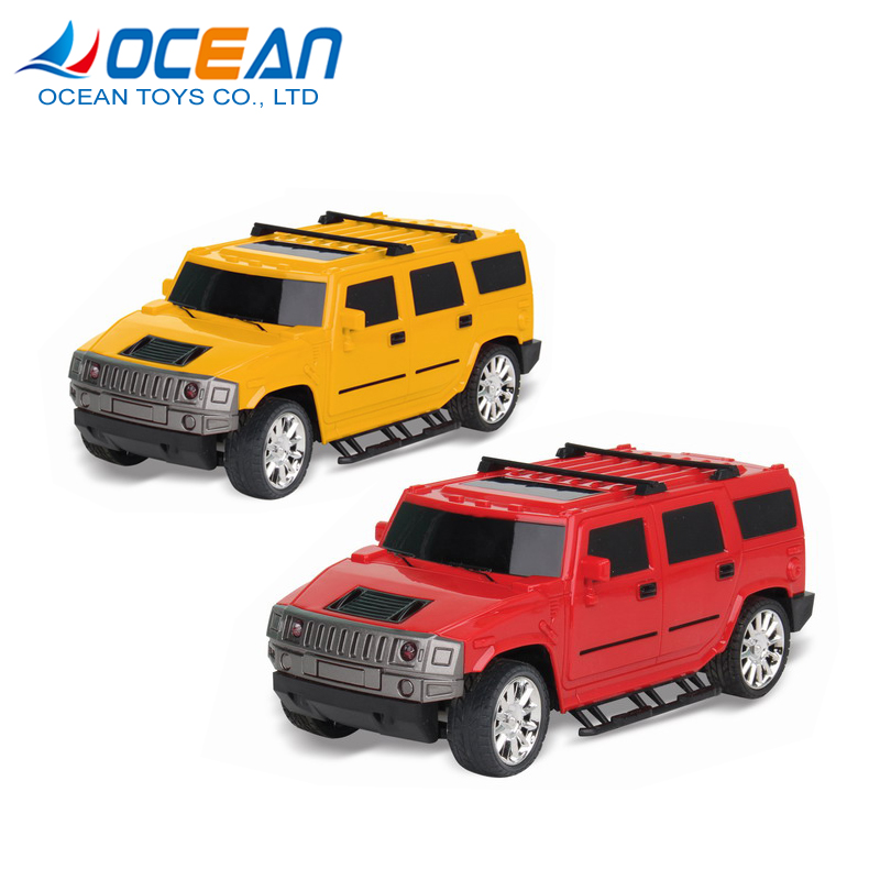 Children cool racing game radio control 4 channel 1:18 car for simulation hummer H2 model