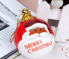 New product gift clear christmas plastic baubles