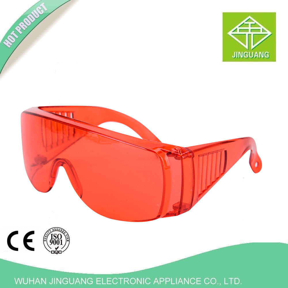 Dental material curing light glasses / Dental safety protective glasses / Dental anti-fog protection glasses