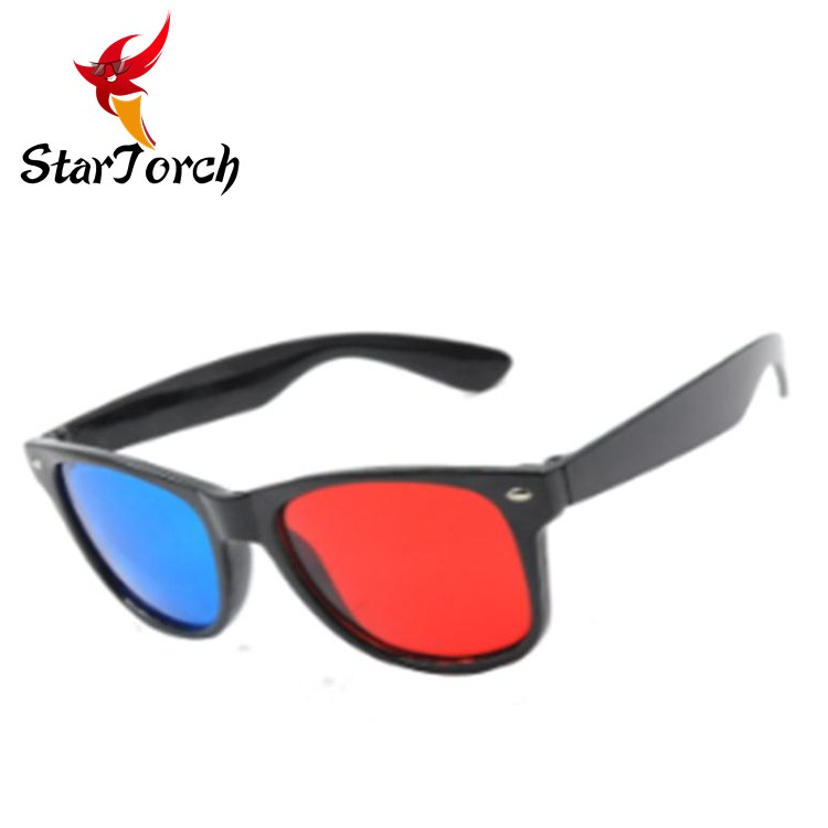 Good design for 3D glasses red blue 3d glasses sunglasses