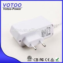 white color Power adapter,12V DC 1.5A Power adapter