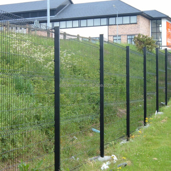 Black Wire Fencing | Black Welded Wire Fence Mesh Panel Backyard Metal Fence Cheap Yard