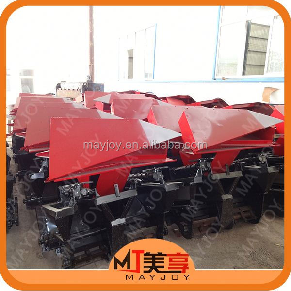 Hot made in China wheel type self propelled corn harvester with peeler