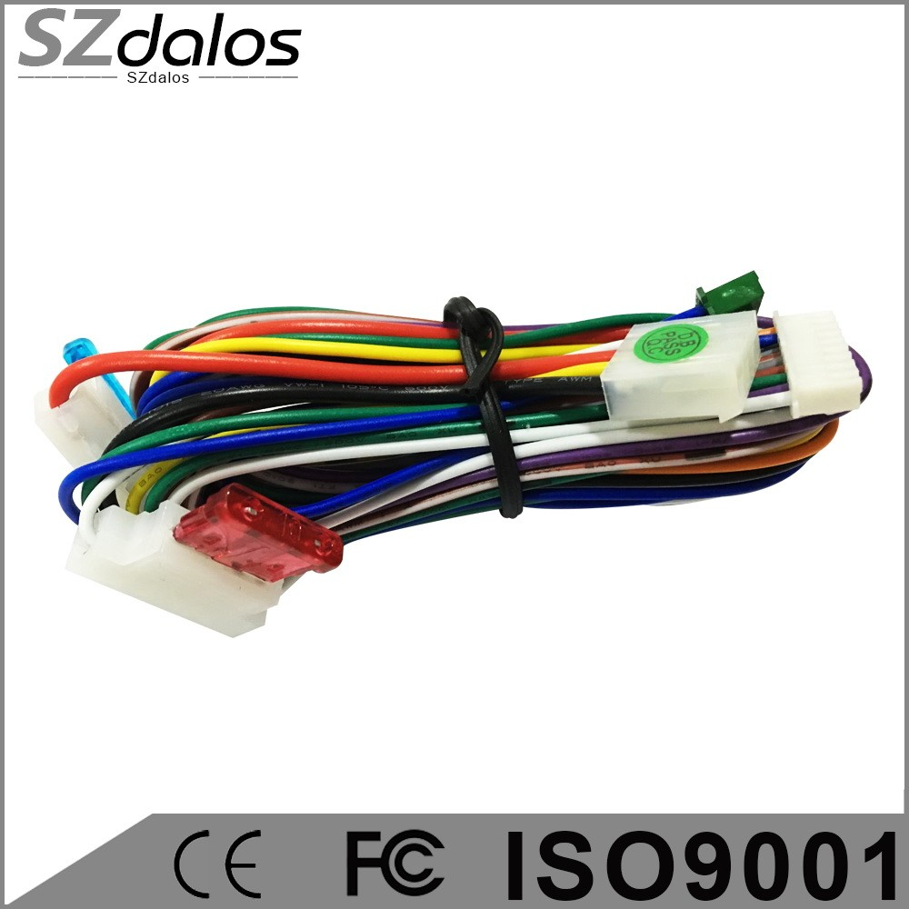 best selling in South America octopus car alarm vision car alarm system  with learning code