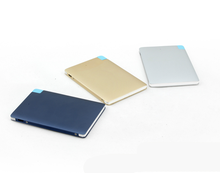 Alibaba wholesale high quality Super slim 2500mah mobile power bank in dubai