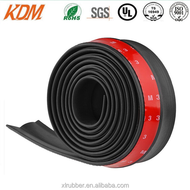 bumper lip rubber skirt for auto