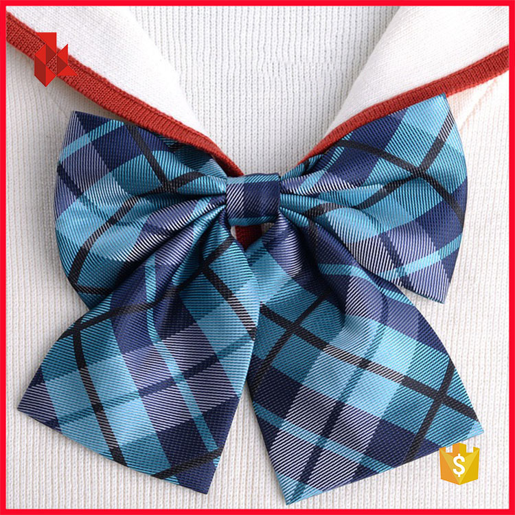 Nice Handmade Polyester Ribbon Bow Ties for Women