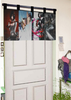 wholesale custom printed anime curtain rod accessories, shower curtain