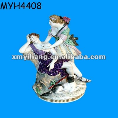Antique Victorian porcelain figurines