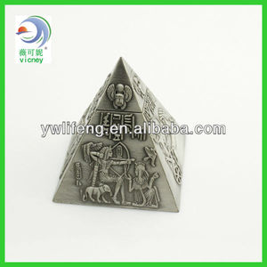 Souvenir Metal Building The Great Pyramid Egypt