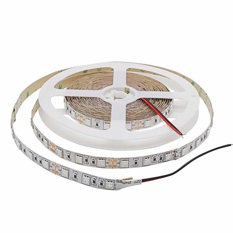 12V 5050 Grow LED Flexible Strip Tape Light 4:1 5:1 Aquarium Greenhouse Hydroponic Plant Growing Lamp 60led/m