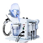Multifunction beauty salon equipment skin scrubber ultrasonic deep cleaning rf facial machine