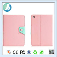 Bulk buy from china Korean Style Button PU Leather Case For Ipad Mini