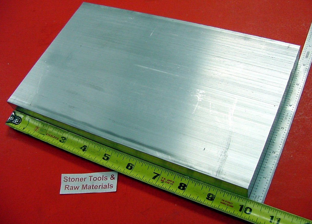 "1//2/"" X 5/"" ALUMINUM 6061 FLAT BAR 12/"" long Solid T6511 New Mill Stock .50/""x 5.0/"""