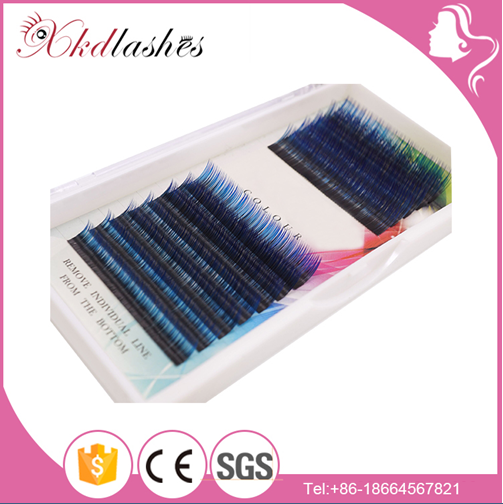 3d 5d Belle Banana Blink Colored Human Hair Lashes Individual Mink Korean Materials For Private Label Silk Eyelash Extensions