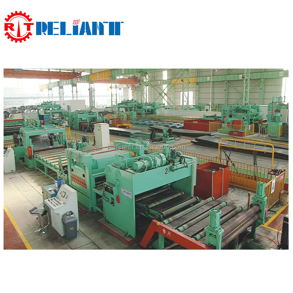 Metal Plate Carbon Sheet De-coiling, Leveling and Cut To Length Line