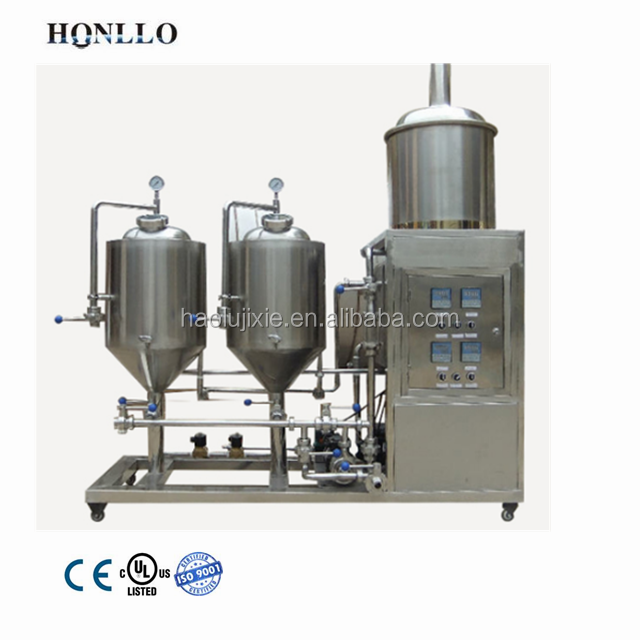 50l home beer equipment for pub and restaurant/100l microbrewery equipment brewing system for beer style lager and ale
