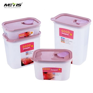 trade assurance A4013 PP material stackable plastic large storage box set