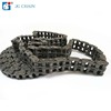 DIN standard a series agricultural chain transmission parts 06b-2 double strand roller chain