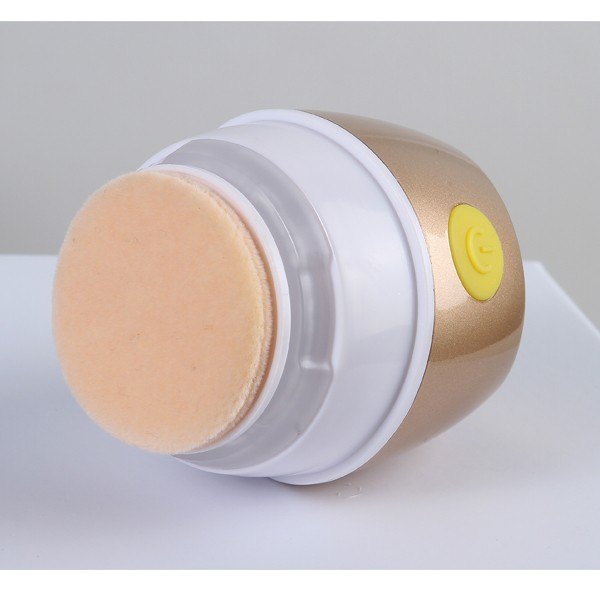Electric rotaring powder puff vibration foundation puff HOT in Europe