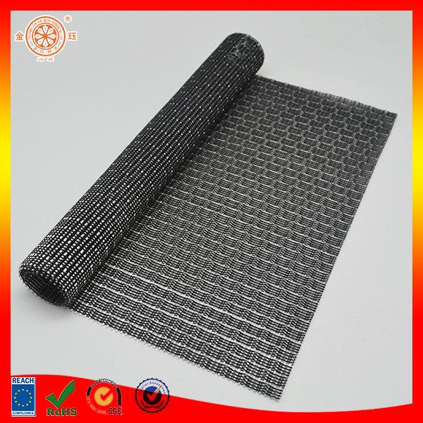 blind mesh fabric vinyl placemats napkins rectangle folding black napkin woven floor mat - Vinyl Placemats