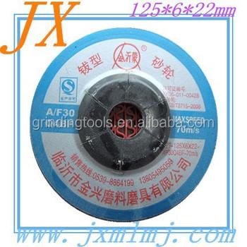 T27 Resinoid Abrasive Grinding Wheel For Carbon Steel In Cheaper ...