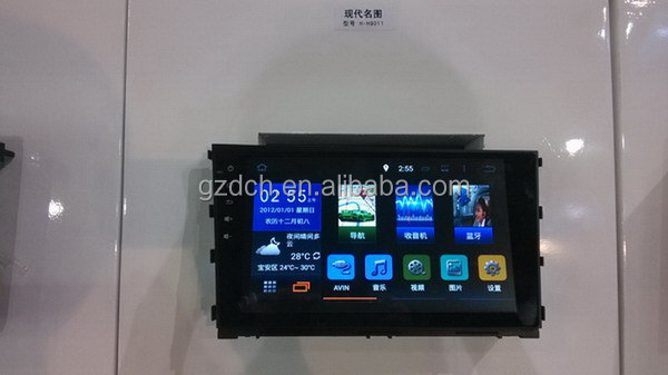 9.2 inch 2 din car dvd with <strong>android</strong> can-<strong>bus</strong> for hyundai MISTRA 4 core RK3188 1024*600 1G+16G WS-9678