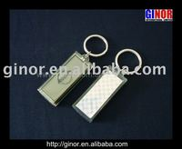 lcd solar key chain with car brand