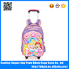 Low MOQ wholesale price trolley backpack trolley school bag for kids 1-3 grades