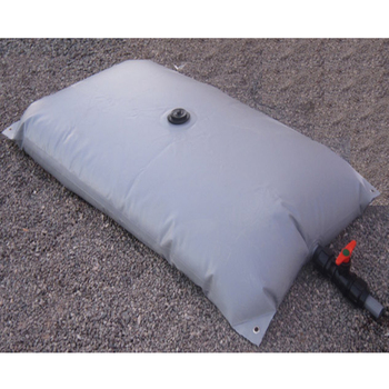 Plastic Flexible Collapsible 100 Gallon PVC Truck Water Bladder Tank