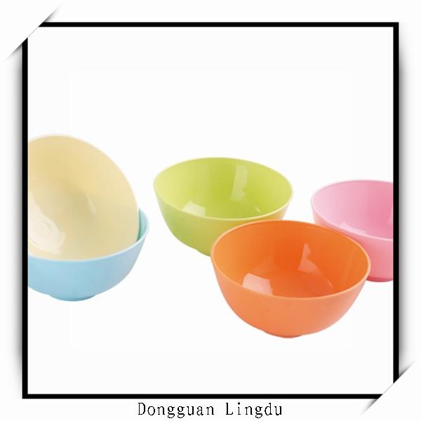Plastic fish bowl and large plastic food salad bowl buy for Large plastic fish bowl