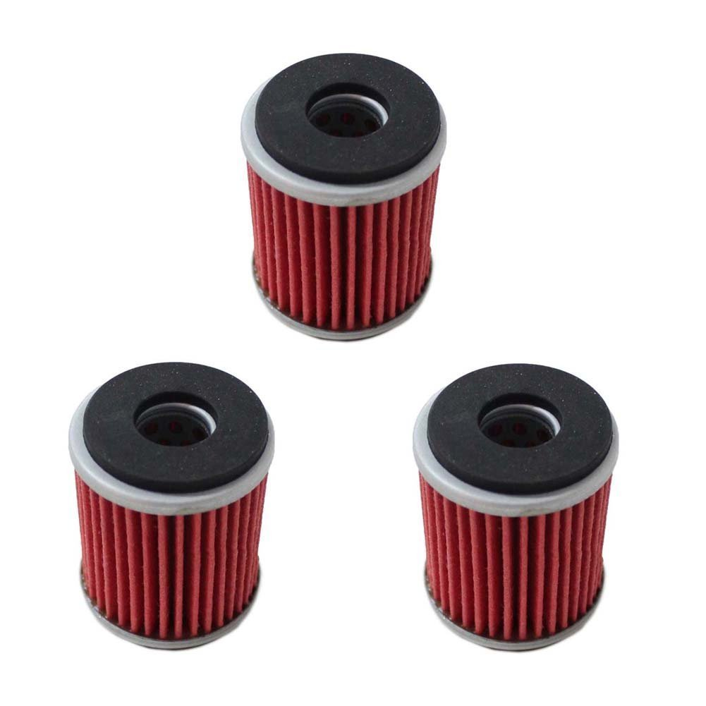 5 x Oil Filter fit for Yamaha YFZ 450 2003 2004 2005 2006 2007 2008 2009 WR250F WR450F KN141 HF141