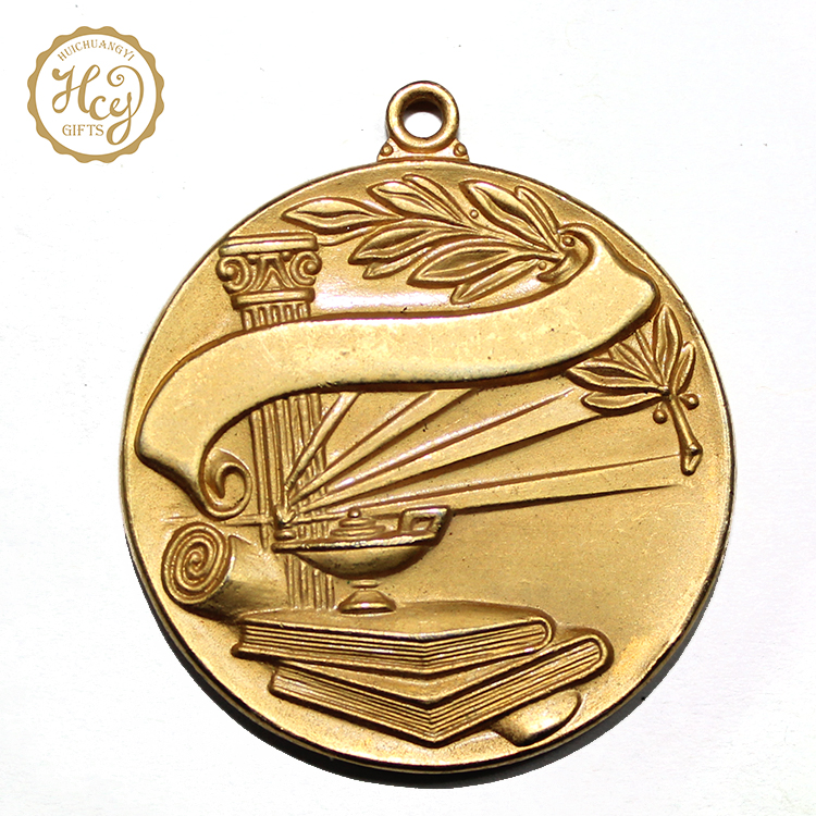 Factory Hot Selling Metal Custom Round Gold Plated Cheap Wholesale Blank Running Sport Award Medal